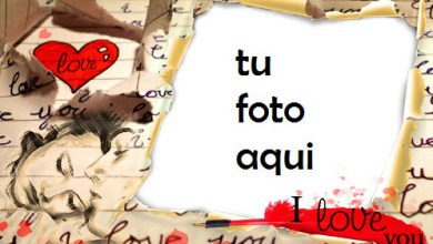 Photo of Carta De Amor Marco Para Foto