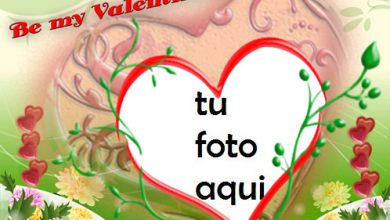 Photo of Feliz Día De San Valentin Marco Para Foto