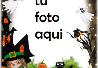 Photo of Ambiente Horrible De Halloween Marco Para Foto