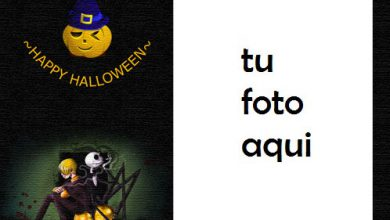 Photo of Feliz Halloween Para Usted Marco Para Foto