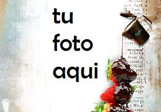 Photo of Fresas Chocolate Marco Para Foto
