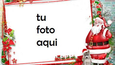 Photo of Santa Claus Te Desea Un Feliz Año Marco Para Foto