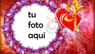 Photo of Marco Para Foto Corazones Brillantes Amor Marcos