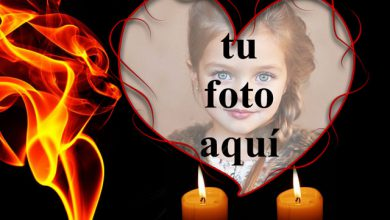 Photo of Ama velas y ama fuego foto marcos