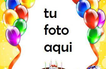 Hermoso Pastel De Feliz Cumpleaños Marco Para Foto 338x220 - Hermoso Pastel De Feliz Cumpleaños Marco Para Foto
