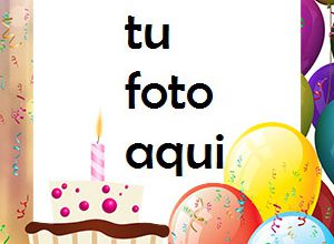 Pastel De Chocolate Feliz Cumpleaños Marco Para Foto 300x220 - Pastel De Chocolate Feliz Cumpleaños Marco Para Foto
