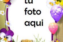 Tarta De Cumpleaños Con Regalos Y Oso Marco Para Foto 220x150 - Tarta De Cumpleaños Con Regalos Y Oso Marco Para Foto
