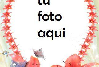 Corazones Y Flores Para San Valentín Marco Para Foto 322x220 - Corazones Y Flores Para San Valentín Marco Para Foto