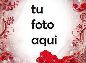 El corazón rojo de rosas es muy hermoso Marco Para Foto 300x220 - El corazón rojo de rosas es muy hermoso Marco Para Foto
