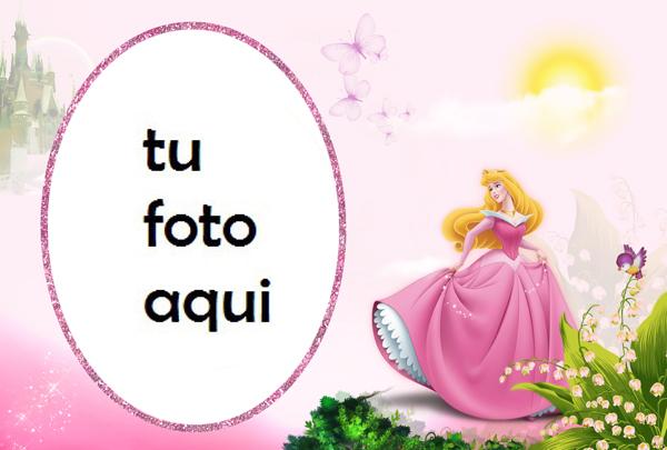 Marco Para Foto Princesa Aurora Niños Marcos - Marco Para Foto Princesa Aurora Niños Marcos