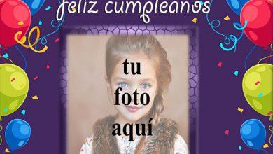 feliz cumpleaños con globos marco de fotos 390x220 - feliz cumpleaños con globos marco de fotos