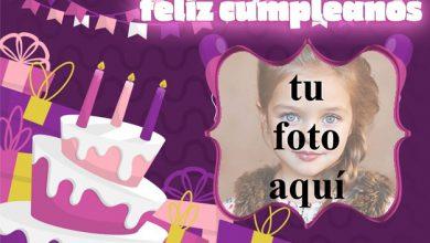 feliz cumpleaños marco de fotos muy bonito pastel 390x220 - feliz cumpleaños marco de fotos muy bonito pastel