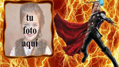 los vengadores thor y el marco de fotos de truenos de fuego 390x220 - los vengadores thor y el marco de fotos de truenos de fuego