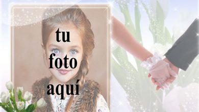 marco de fotos de boda de la mano 390x220 - marco de fotos de boda de la mano