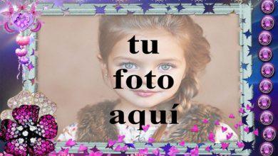 el romantico marco de fotos morado con bonita decoracion 390x220 - el romántico marco de fotos morado con bonita decoración