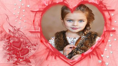 marco de fotos romantico color rosa y gran corazon romantico 390x220 - marco de fotos romántico color rosa y gran corazón romántico