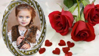 marco de fotos romantico con marco blanco y rosas rojas romanticas 390x220 - marco de fotos romántico con marco blanco y rosas rojas románticas