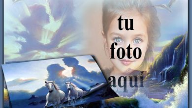 marco de fotos romantico cielo 390x220 - marco de fotos romántico cielo