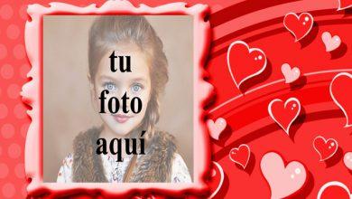 marco de fotos romantico de corazones de amor volador 390x220 - marco de fotos romántico de corazones de amor volador